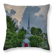 Serenity And Turmoil Throw Pillow