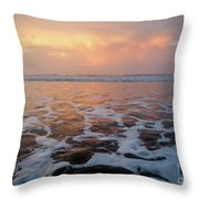 Serenity At The Sea Throw Pillow