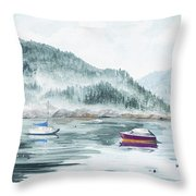 Serenity Bay Throw Pillow