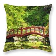 Serenity Bridge II Throw Pillow
