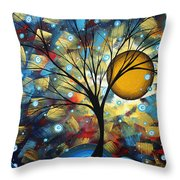 Serenity Falls By Madart Throw Pillow