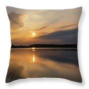 Serenity Throw Pillow by Nick Bywater