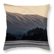 Serenity On The Water Throw Pillow