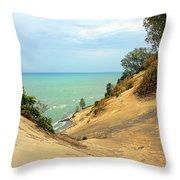 Serenity Path To The Lake Throw Pillow