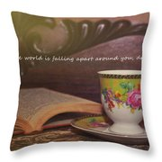 Serenity Quote Throw Pillow