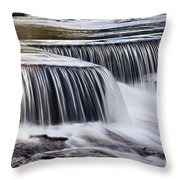 Serenity River Throw Pillow
