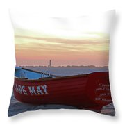 Serenity In Cape May Throw Pillow