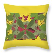 Serenity The Transcendence Into Autumn Throw Pillow
