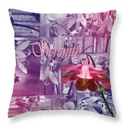 Serentiy Columbine 2 Throw Pillow