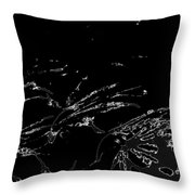 Serialized Throw Pillow