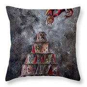 Series Fortune. Fortuna.  Throw Pillow