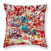 Series Net Joy Of Life Throw Pillow