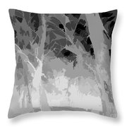 Series Of Black And White 46 Throw Pillow