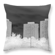 Series Of Black And White 49 Throw Pillow