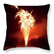 Series Of Fireworks 2 Throw Pillow