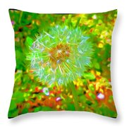 Series Of Spring Time Paintings Throw Pillow