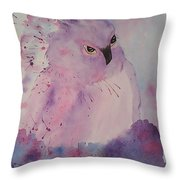 Seriously Throw Pillow by Ginny Youngblood