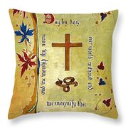 Sermon4 Throw Pillow