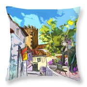 Serpa  Portugal 01 Bis Throw Pillow