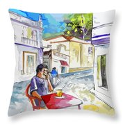 Serpa  Portugal 05 Bis Throw Pillow