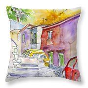 Serpa  Portugal 12 Throw Pillow