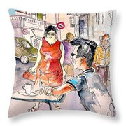 Serpa  Portugal 16 Throw Pillow
