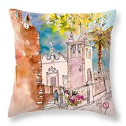 Serpa  Portugal 31 Throw Pillow