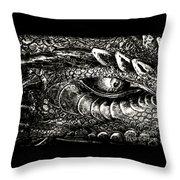Serpentine Throw Pillow