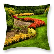 Serpentine Throw Pillow