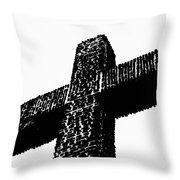 Serra Cross Throw Pillow