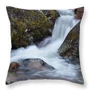 Serra Da Estrela Waterfalls. Portugal Throw Pillow
