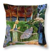 Serusier: Barriere, 1889 Throw Pillow