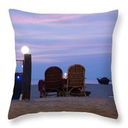 Serving Happiness  Throw Pillow