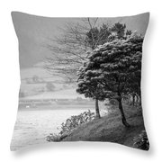 Sete Cidades Lakes Throw Pillow
