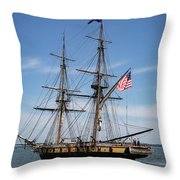 Setting Out To Sail Throw Pillow