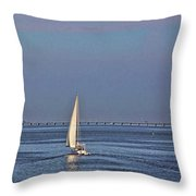 Setting Sail 2 Throw Pillow
