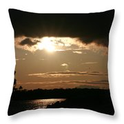 Setting Sun Throw Pillow