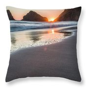 Setting Sun, No. 1 Throw Pillow