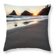 Setting Sun, No. 2 Throw Pillow
