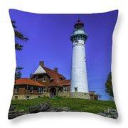 Seul Choix Point Lighthouse Throw Pillow