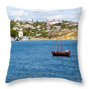 Sevastapol. Ukraine Throw Pillow