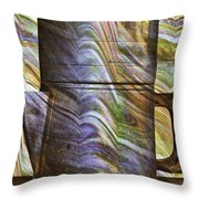 Seven Cups Throw Pillow