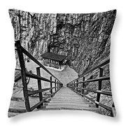 Seven Falls Pastoral Study 1 Throw Pillow