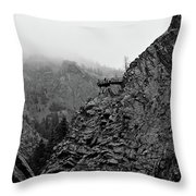 Seven Falls Pastoral Study 3 Throw Pillow