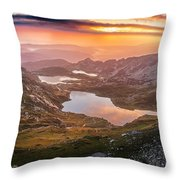 Seven Lakes Throw Pillow