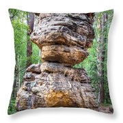 Seven Loaves - Rock Formation Throw Pillow