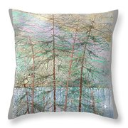 Seven  Throw Pillow by Rick Silas