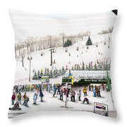 Seven Springs Stowe Slope Throw Pillow
