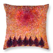 Seven Wishes Throw Pillow