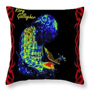 Seventh Son Of A Seventh Son Throw Pillow
